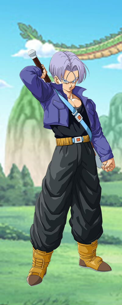 About Trunks Action Figures image