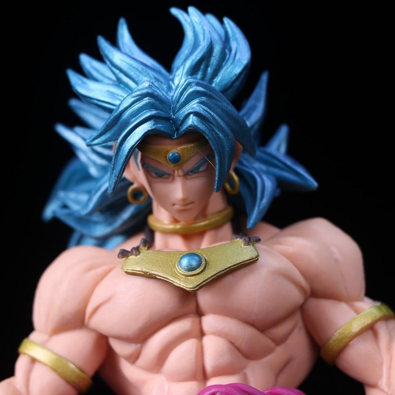 Broly Blue Hair 22cm