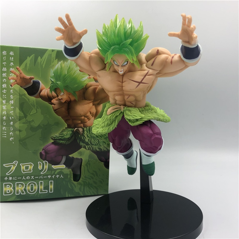Broly Jump Figure 23cm