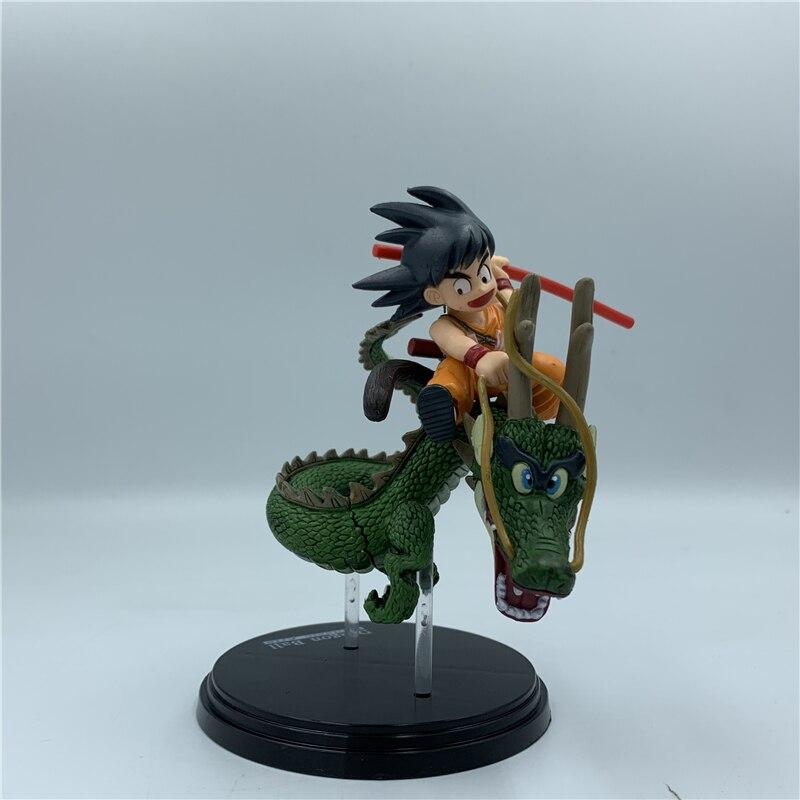 Goku Kid Riding Shenron Figure 13cm