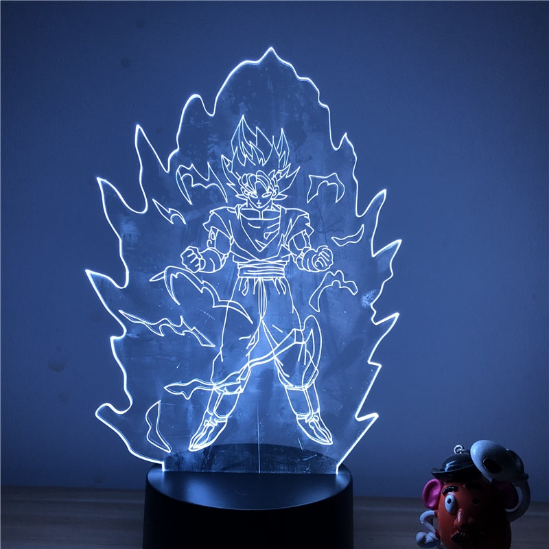 Goku Multi-Colored Table Lamp