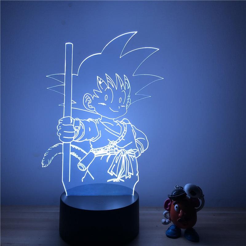 Goku Kid Table LED Lamp