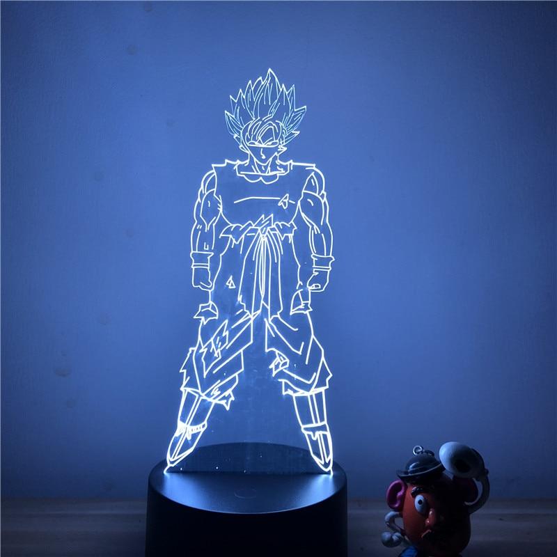 Goku Standing Table Lamp