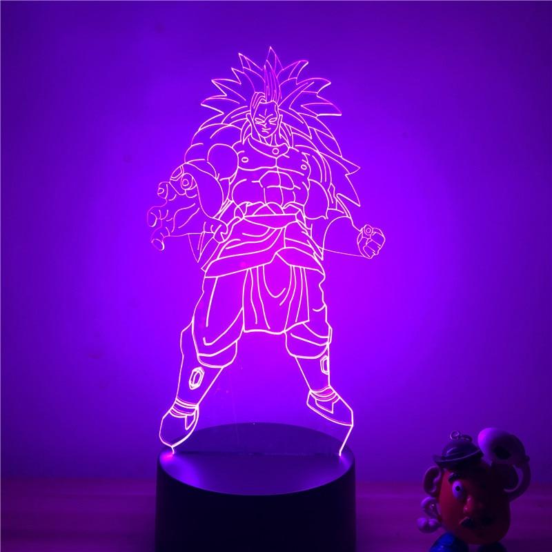 DBZ Broli Standing Table Lamp
