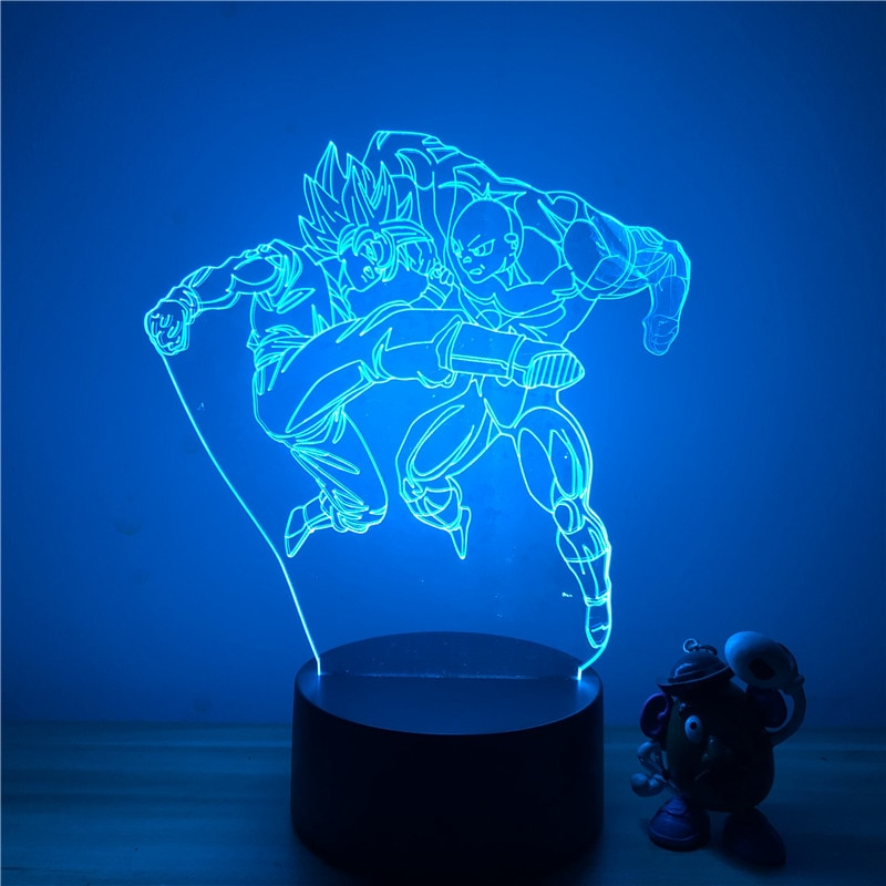 Goku vs Jiren Led Lamp