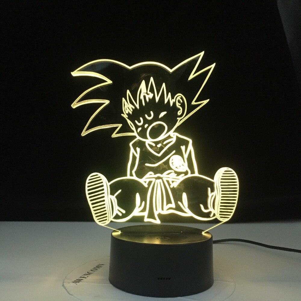 Goku Baby Sleeping Led Lamp