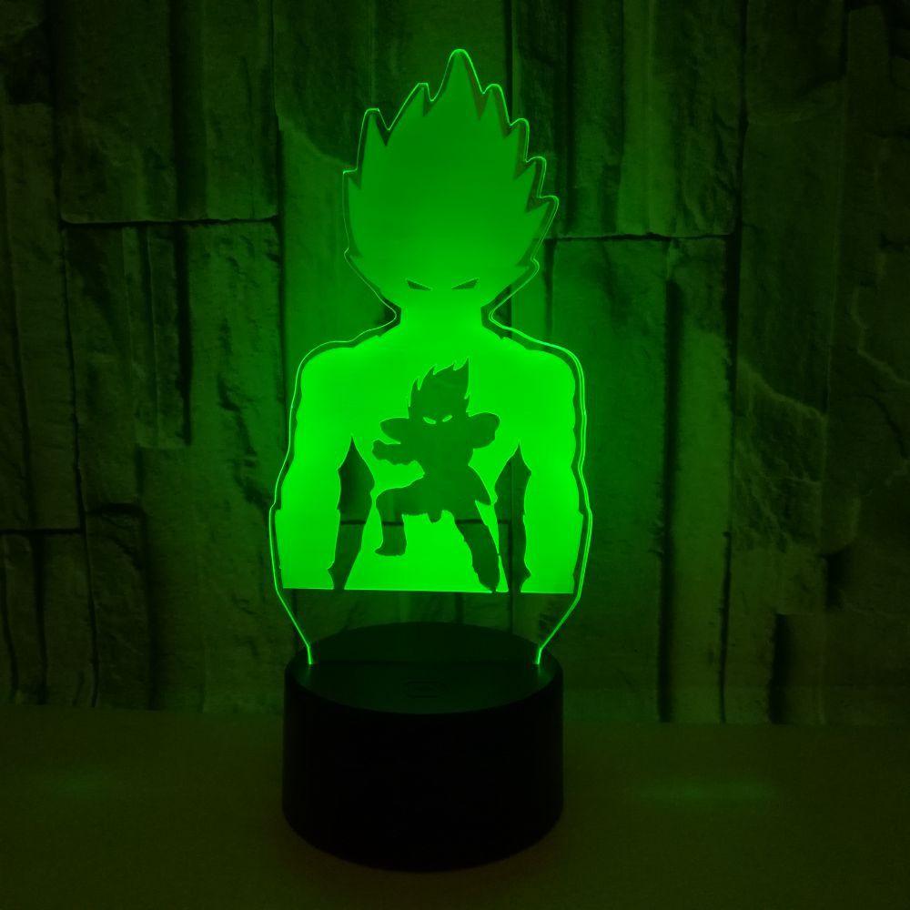 Goku Multi Colored Led Lamp