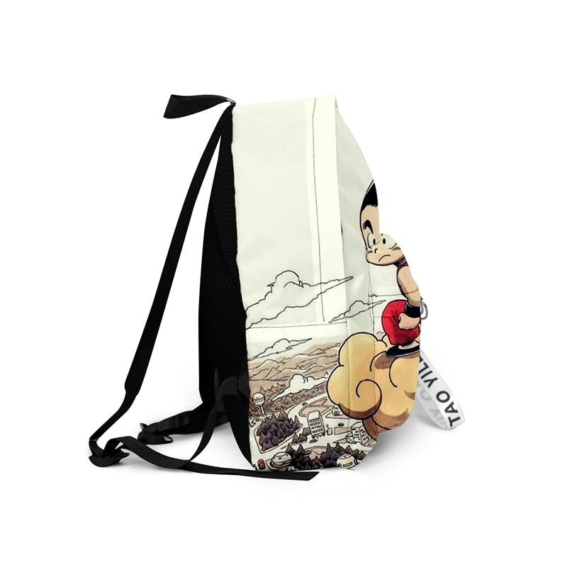 Dragon Ball Z Cream Backpack