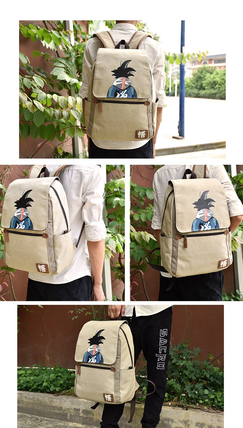 Dragon Ball Z Cute Backpack