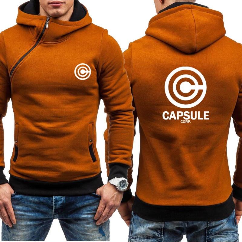 Dragon Ball Z Capsule Corp Hoodie Jacket